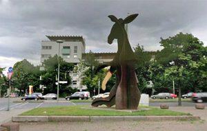 Skulptur von Eckart Haisch, 1985