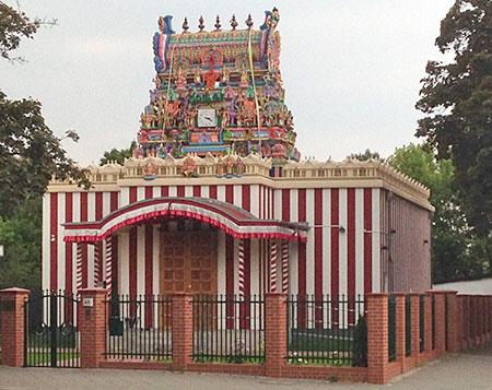Sri Mayurapathy Murugan Tempel